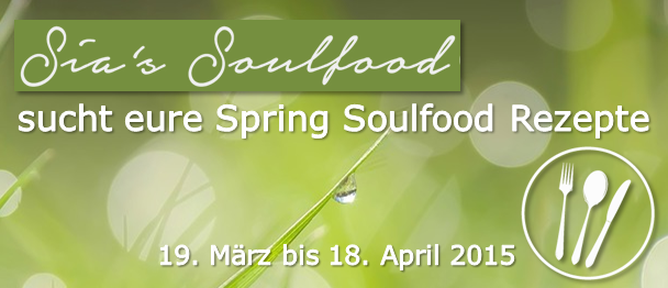 Sia´s Soulfood Event-Banner quer