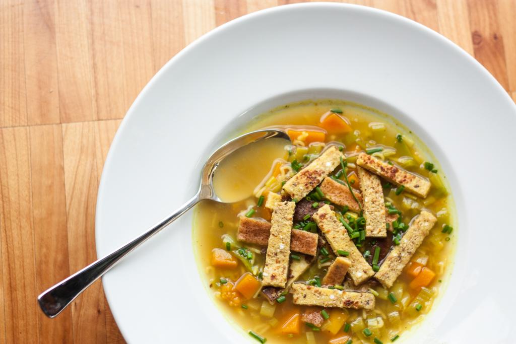 Curry Flädle Suppe 5