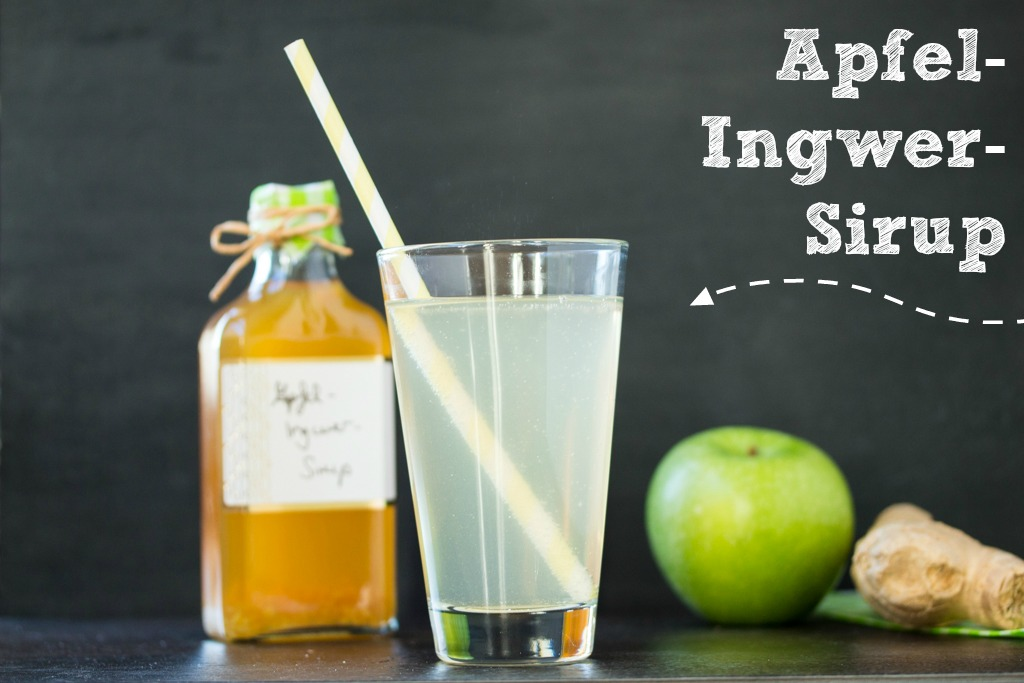 Apfel Ingwer Sirup 2b