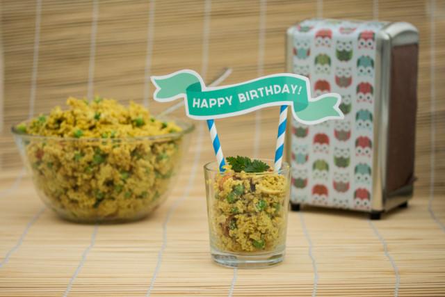 Bulgur Hähnchen Salat 5