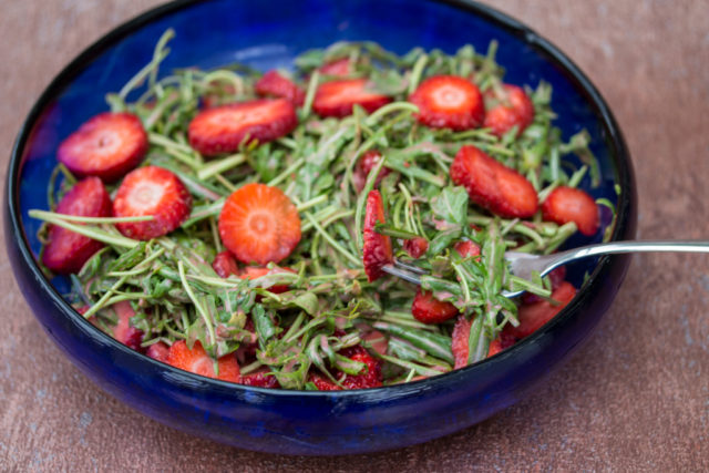 Rucola Erdbeer Salat 5