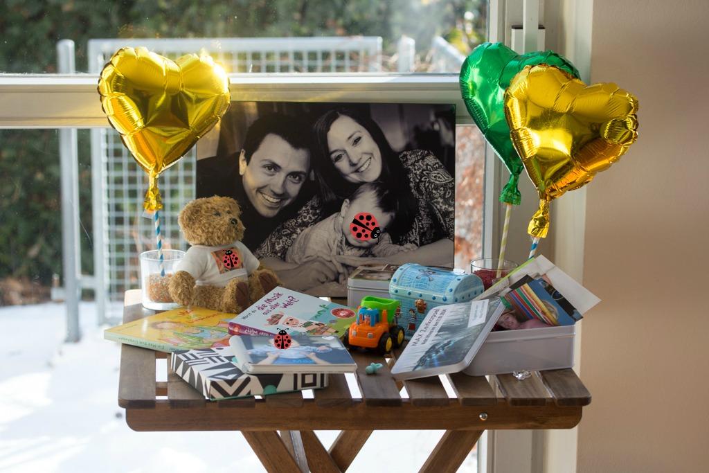 Käferles erster Geburtstag - Geschenke, Torten und eine Zeitkapsel | mit Gewinnspiel - Kochliebe
