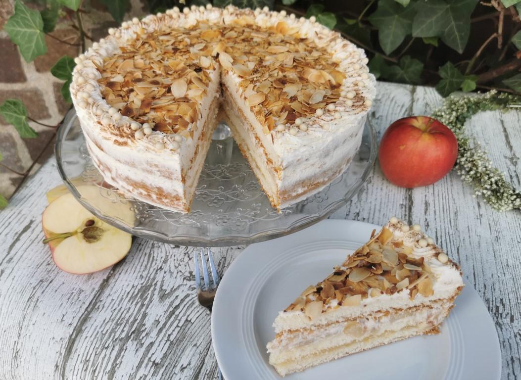Feine Bratapfel-Torte für Eilige - Kochliebe